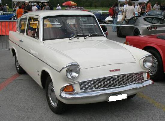 Ford Anglia 1961 Wibbles World